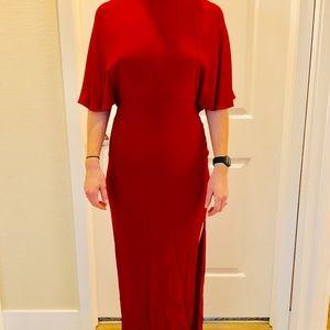 NWT Reformation Escala Red Cherry Bomb Dress